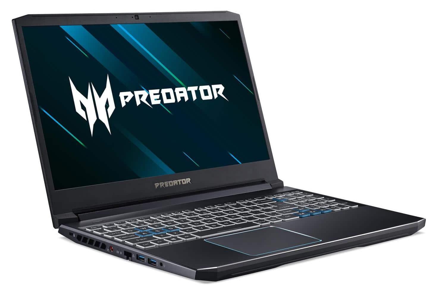 Acer Predator PH315-52-54FD, 15 pouces gamer 1660 Ti (829€)