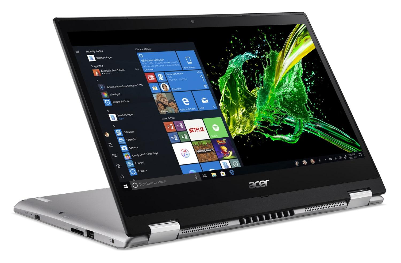 """Acer SP314-53GN-542C, Ultra 14"""" Tablette polyvalent léger (899€)"""