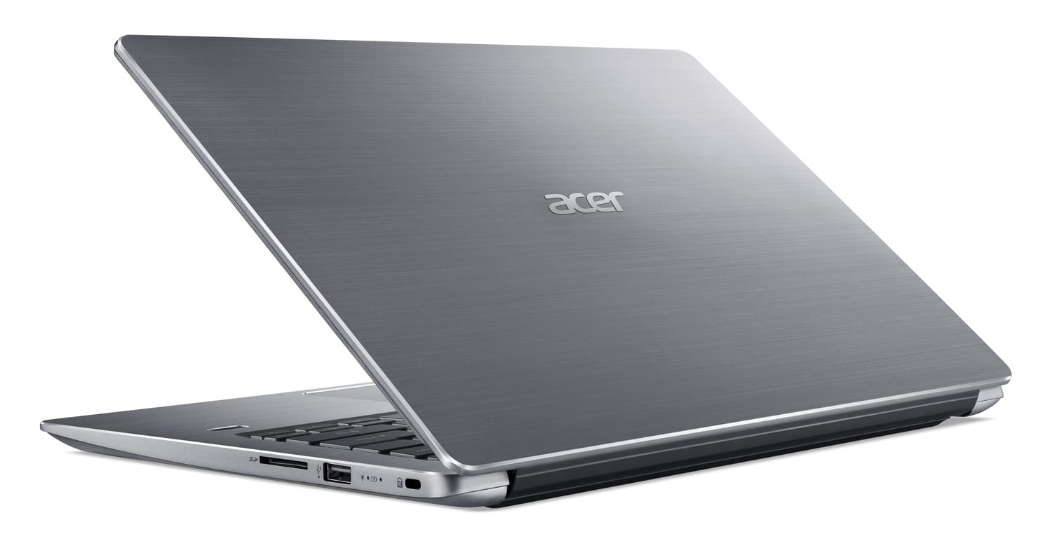 "Acer SF314-56-56F6, Ultra 14"" argent léger SSD 512 Go (679€)"