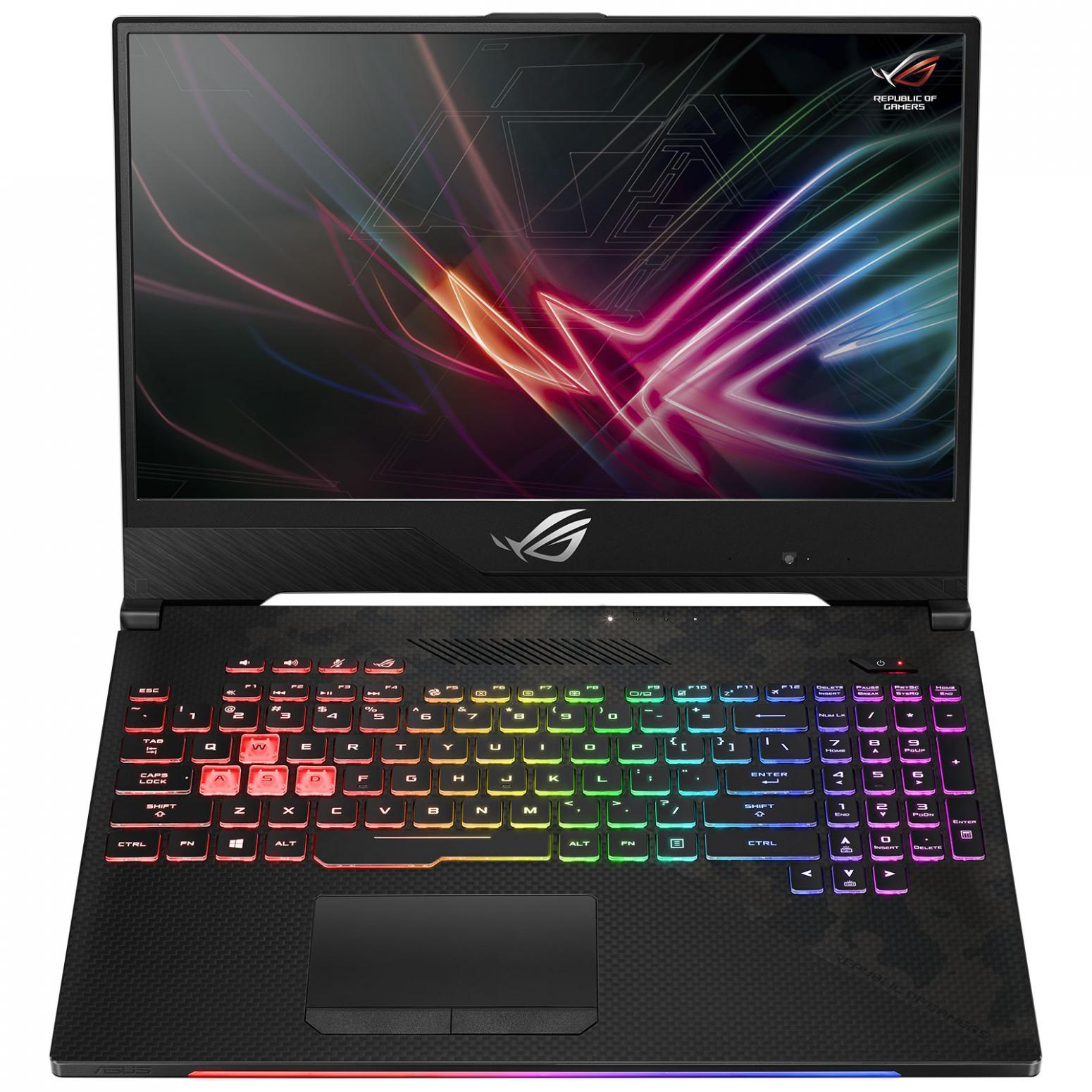 "Asus ROG GL504GS-ES060T, 15"" gamer intensif 144Hz (1299€)"