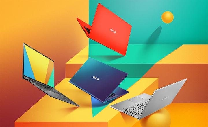 Asus VivoBook 15 X512, nouveaux Ultrabooks fins colorés MX250