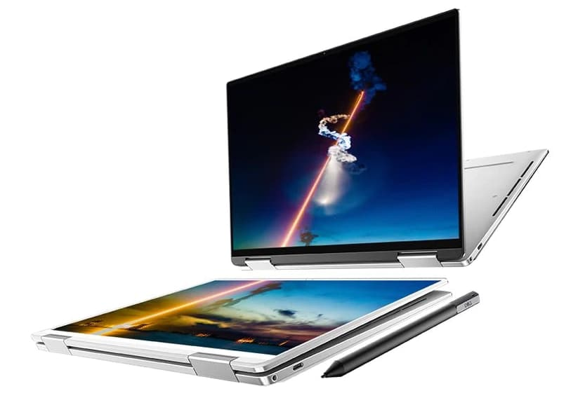 Dell XPS 13 2-en-1 7390, Ultrabook Tablette 4K tactile Ice Lake, TB3