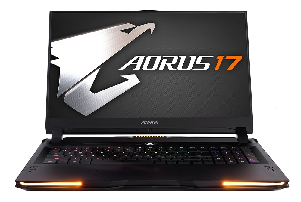 "Gigabyte Aorus 17, PC portable 17"" 240Hz gamer Octo Core i9 RTX 2080"