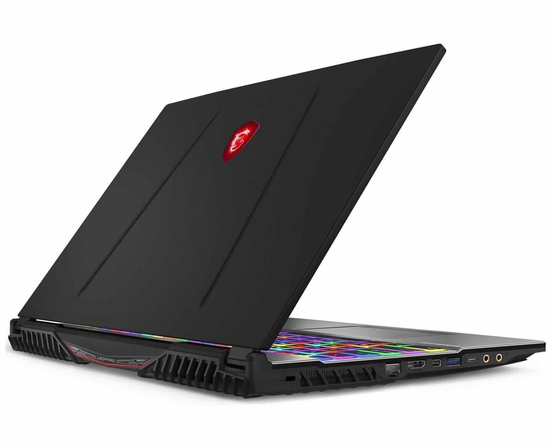 "MSI GP65 9SD-065FR, PC portable 15"" joueur GTX 1660 Ti (1559€)"