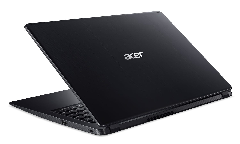 """Acer A515-43-R33M, PC 15"""" noir polyvalent rapide léger (539€)"""