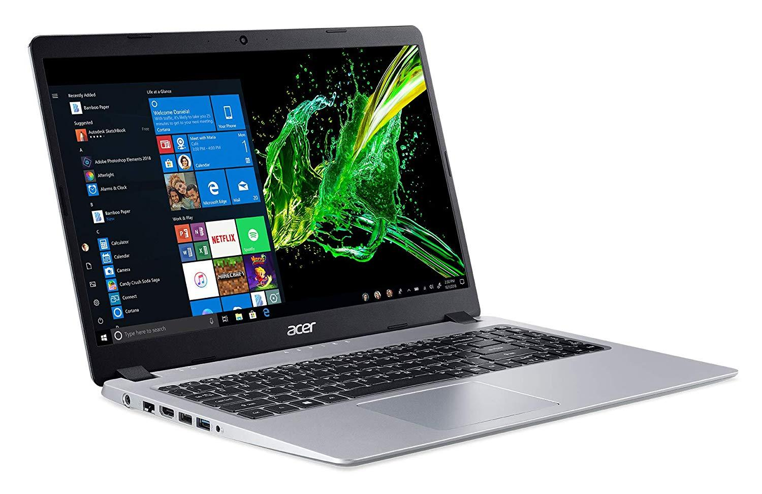 "Acer Aspire A515-43G-R3EY, ultrabook 15"" multimédia AMD (599€)"