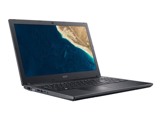 """Acer P2510-G2-M-54Q3, PC portable 15"""" Pro noir rapide (769€)"""