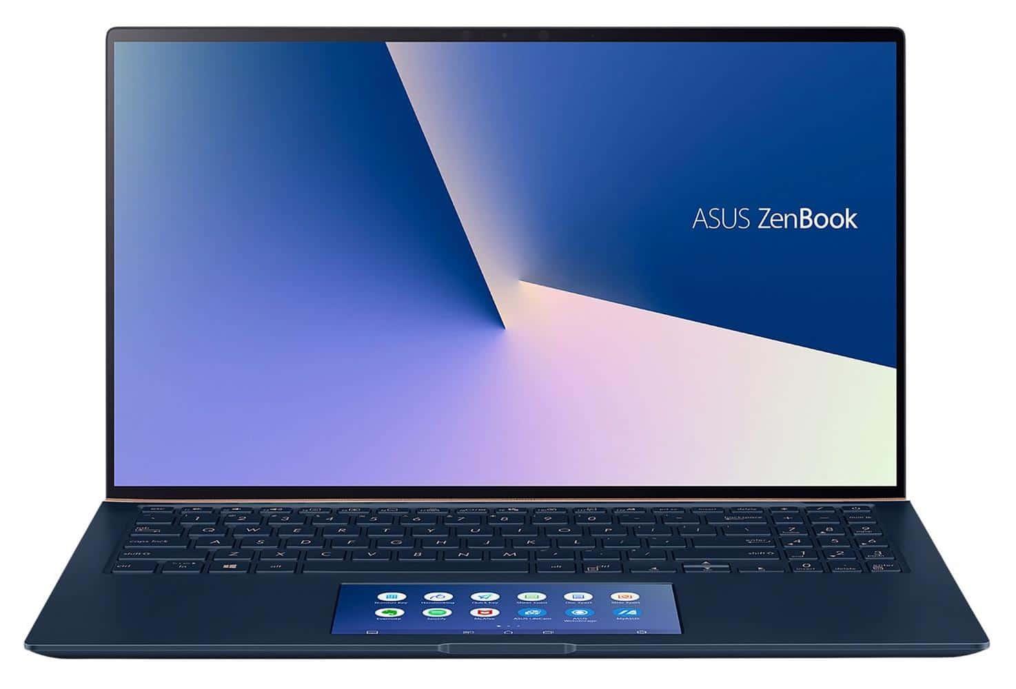 """<span class=""""nouveau"""">Nouveau 1599€</span> Asus Zenbook UX534FT-A9175T, ultrabook 15"""" polyvalent avec 2 écrans"""