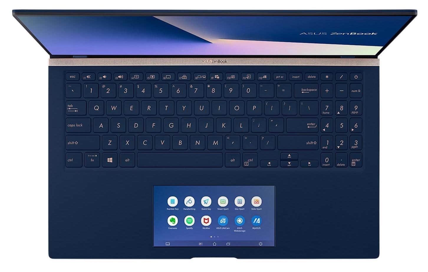 """Asus ZenBook UX534FT-AA025R, 15"""" léger 4K polyvalent (1699€)"""