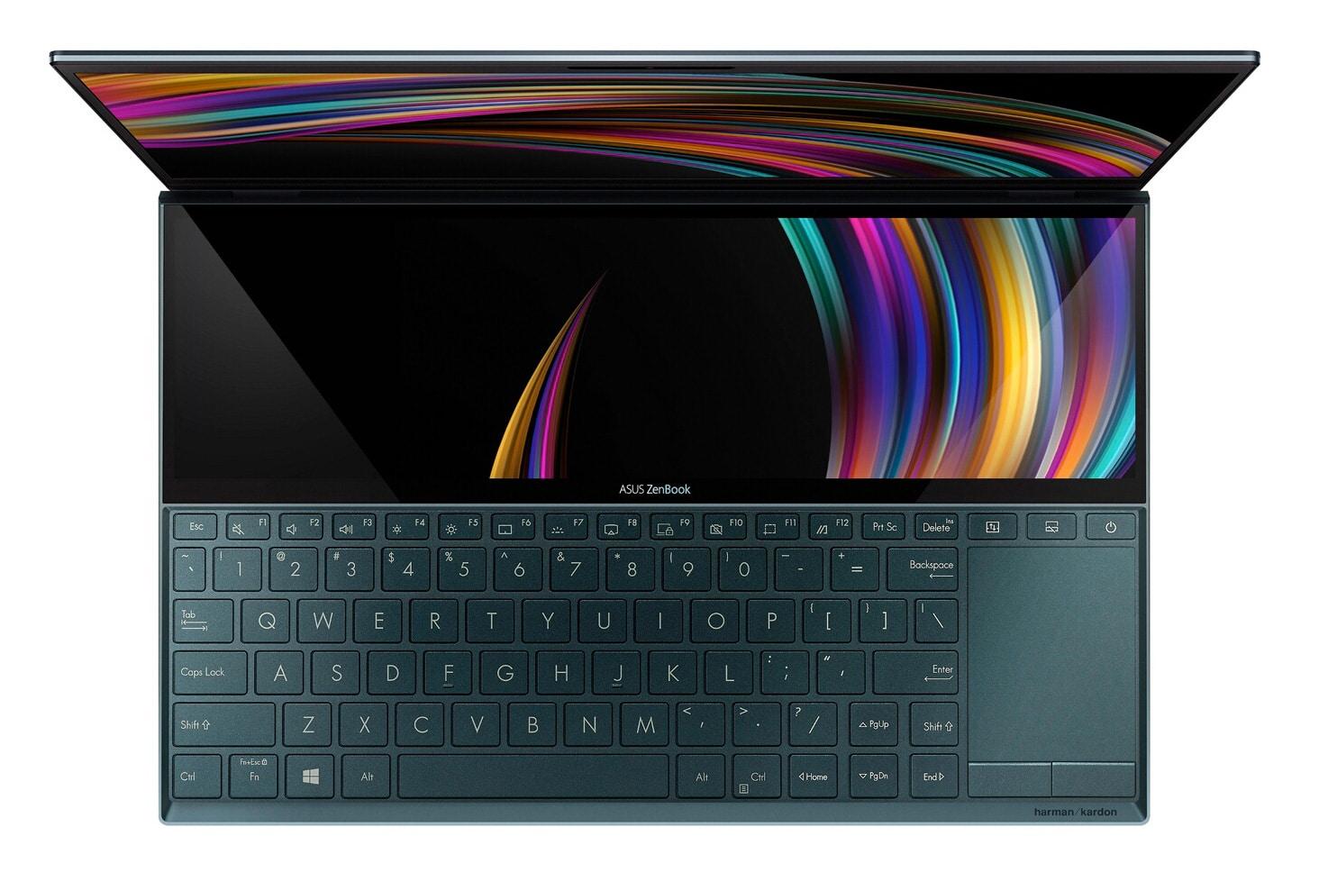 Asus Duo UX481FA-BM011T, Ultrabook 2 écrans Comet (1499€)