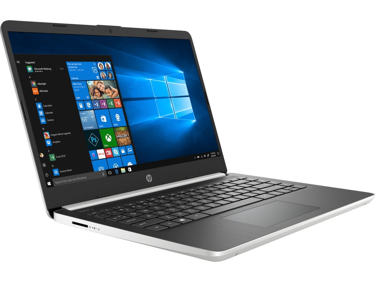 """HP 14s-dq0005nf, Ultrabook 14"""" Turbo rapide SSD fin léger (404€)"""