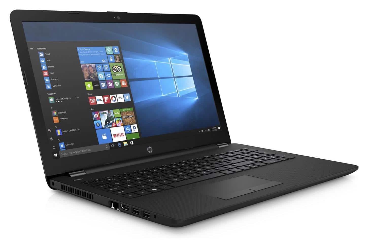 """HP 15-db0095nf, PC portable 15"""" pas cher graveur DVD (379€)"""
