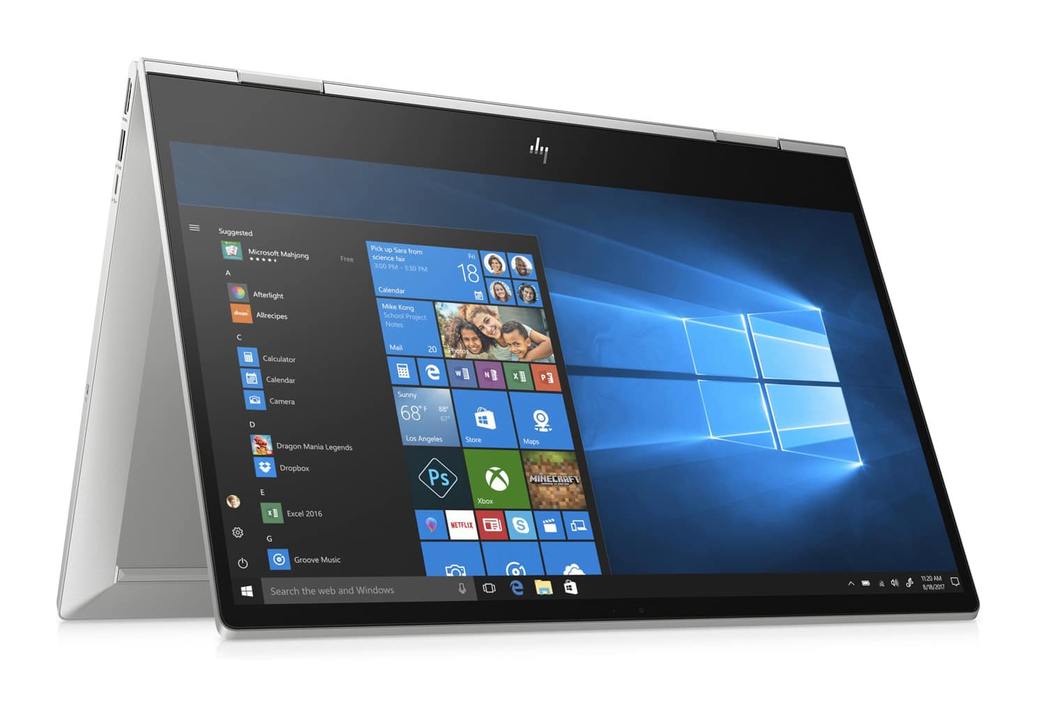 "HP Envy x360 15-dr0012nf, Ultra 15"" Tablette polyvalent (1109€)"