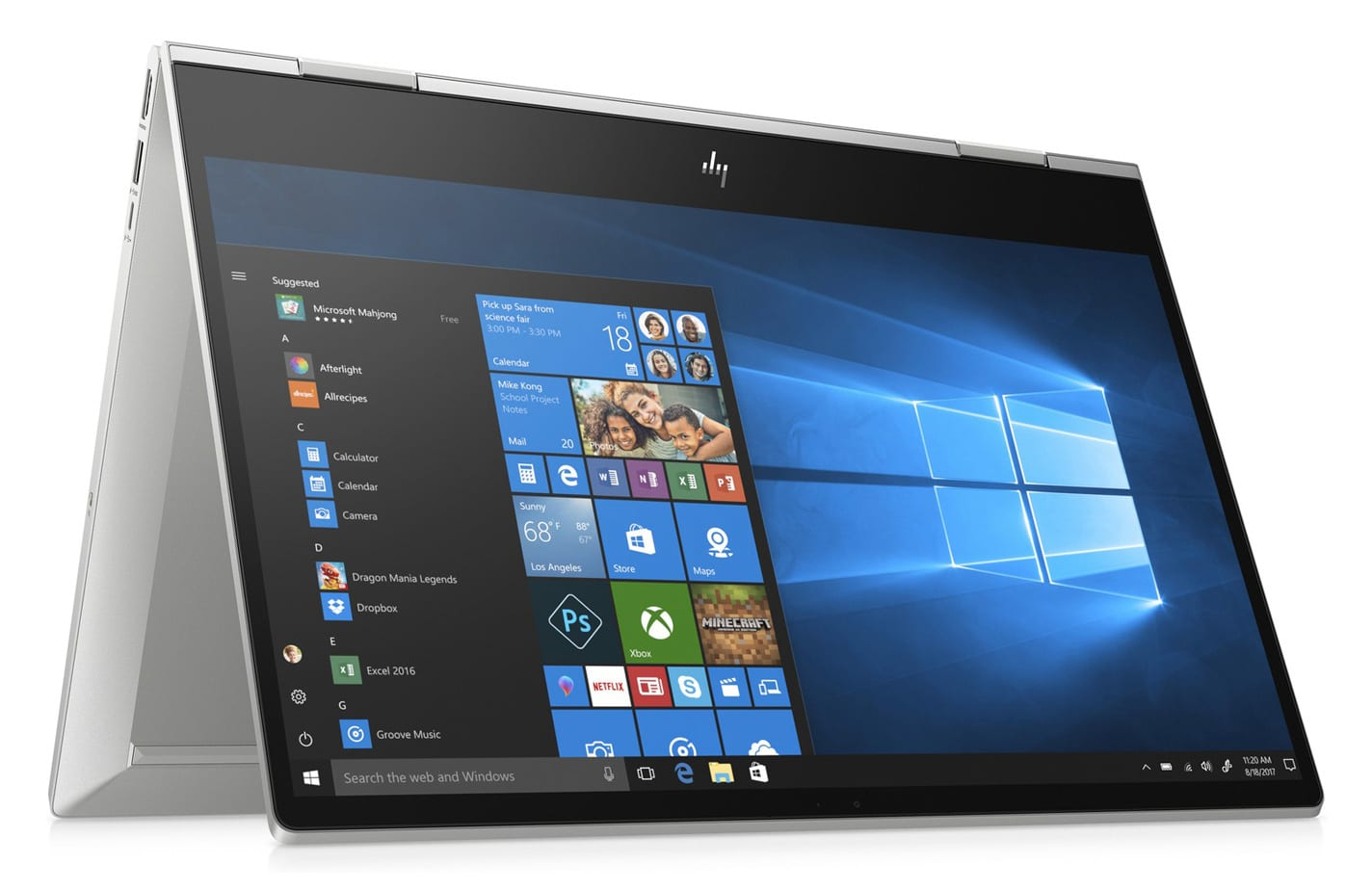 HP Envy x360 15-dr1001nf, 15 pouces Tablette tactile (854€)