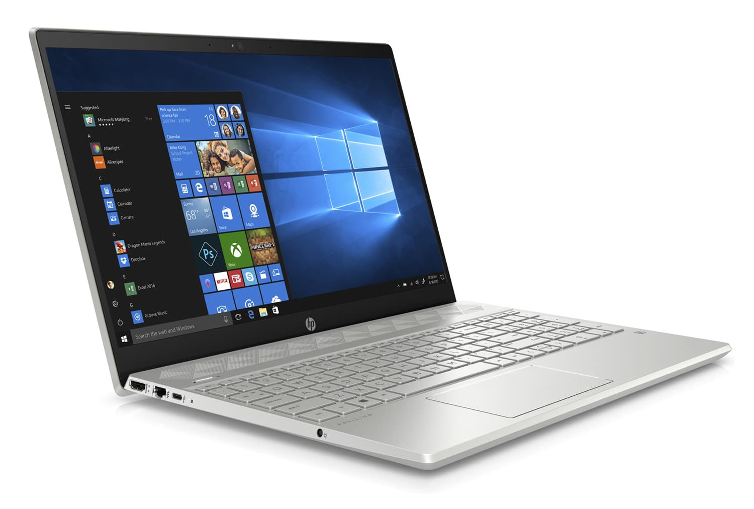 """HP 15-cs0014nf, Ultra 15"""" gros stockage rapide argent (543€)"""