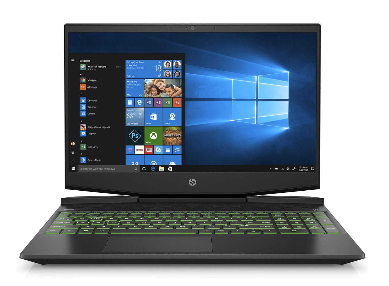 "HP Gaming 15-dk0028nf, PC portable 15"" GTX 1660 Ti léger (1109€)"