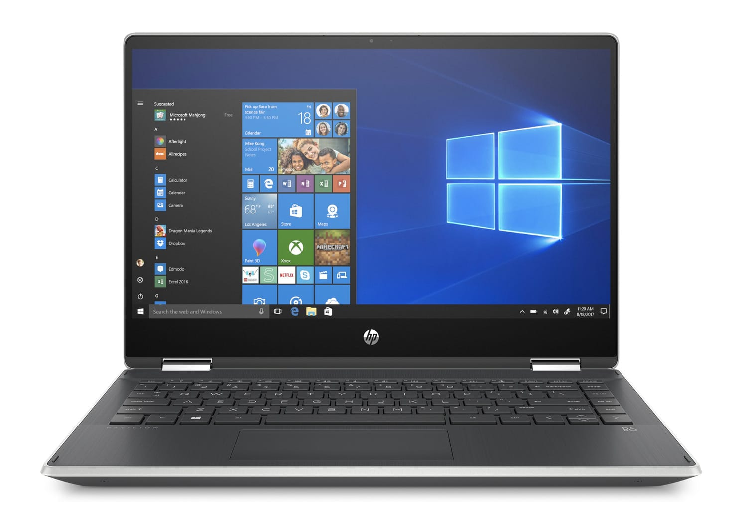 "HP x360 14-dh0049nf, Ultrabook 14"" Tablette rapide (455€)"