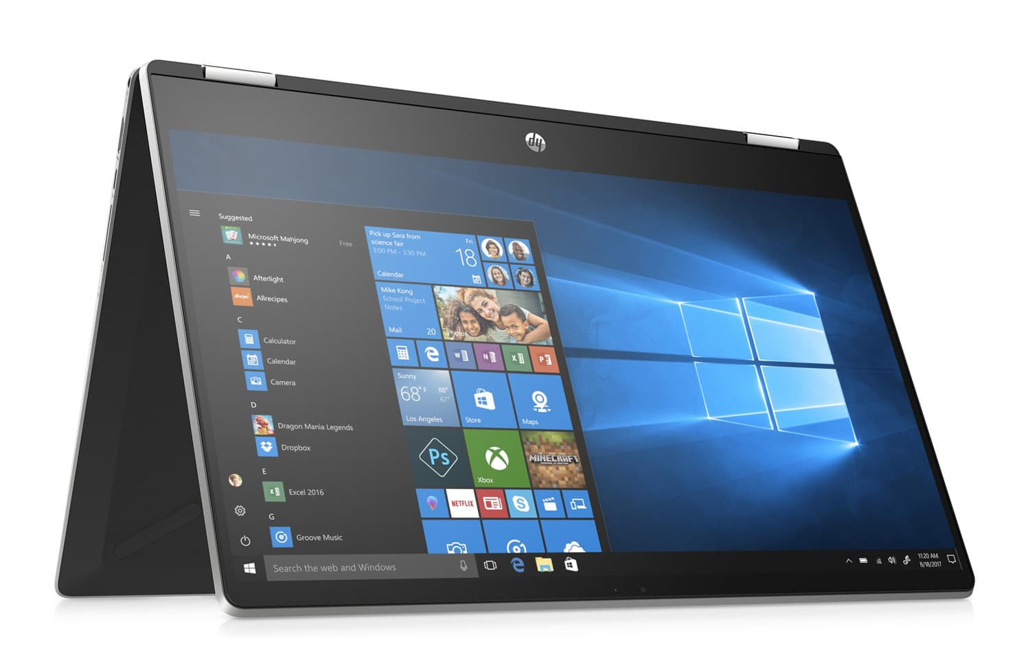 "HP x360 15-dq1007nf, Ultra 15"" Tablette polyvalent Comet (854€)"