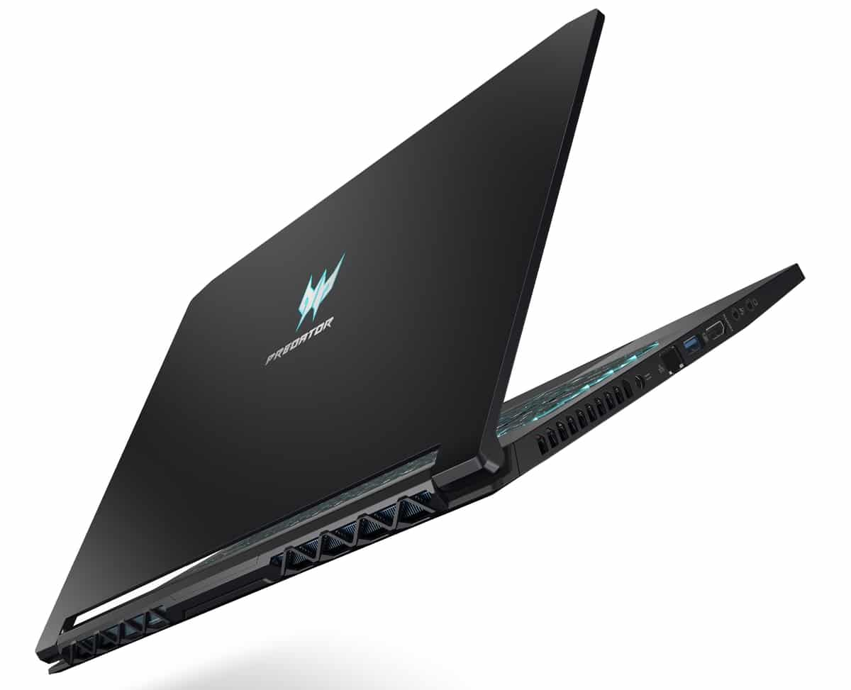 "<span class=""tagtitre"">IFA 2019 - </span>Acer Predator Triton 300 et 500, PC gamer fins 300Hz Turing"