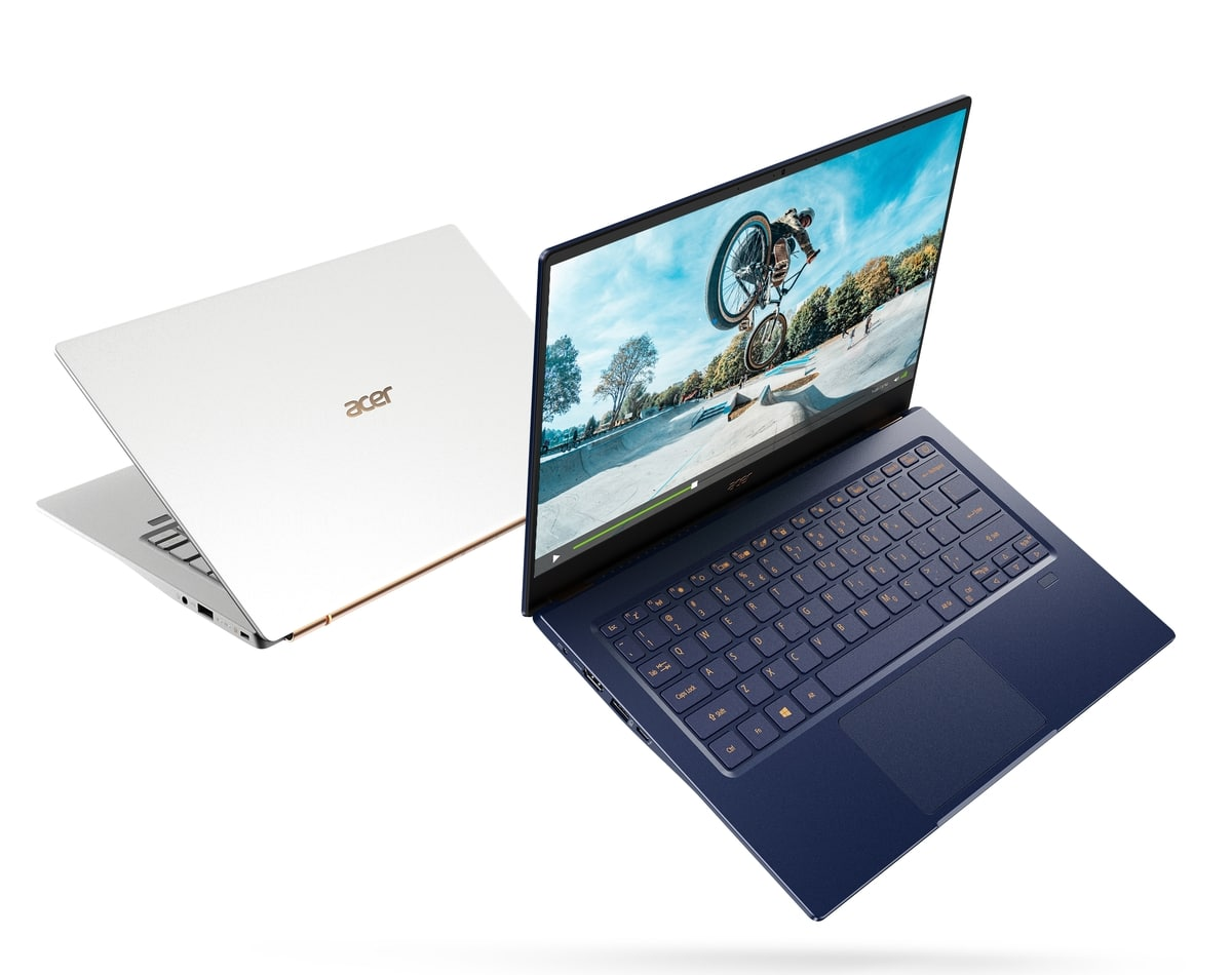 "<span class=""tagtitre"">IFA 2019 - </span>Acer Swift 5, Ultrabook polyvalent Ice Lake 990 gr 12h30"