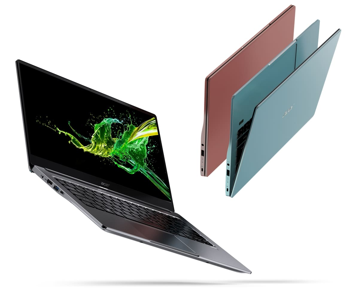 "<span class=""tagtitre"">IFA 2019 - </span>Acer Swift 3, Ultrabook 14"" Ice Lake polyvalent fin et léger"