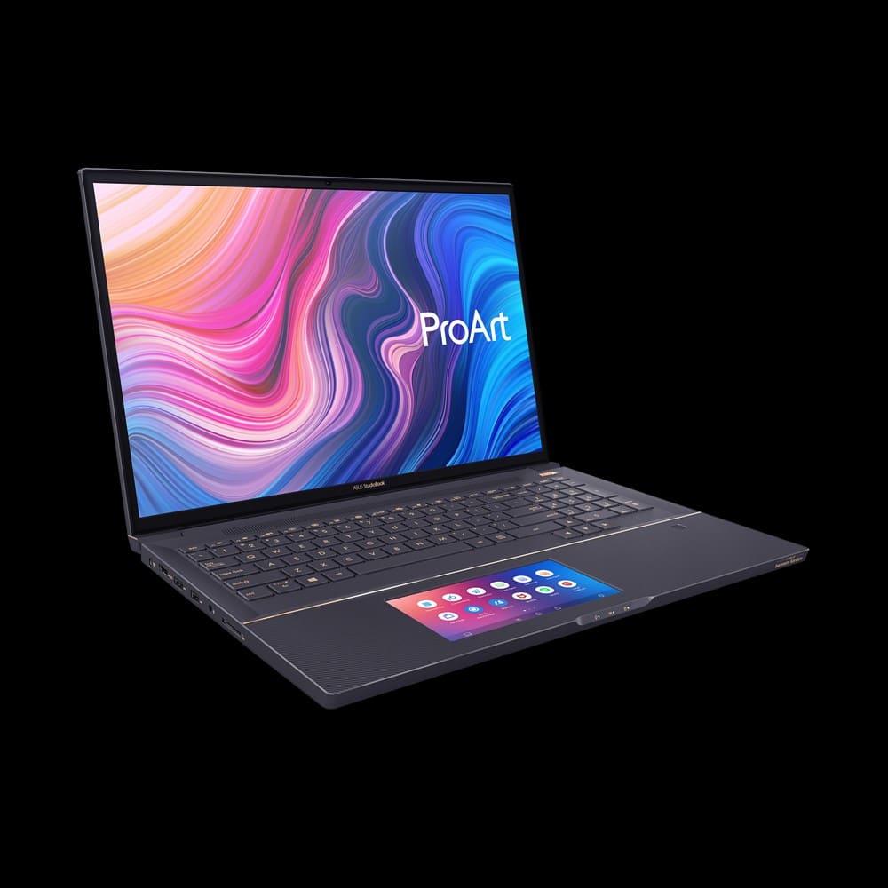"<span class=""tagtitre"">IFA 2019 - </span>Asus ProArt StudioBook Pro X, 17"" Pantone créatif ScreenPad"