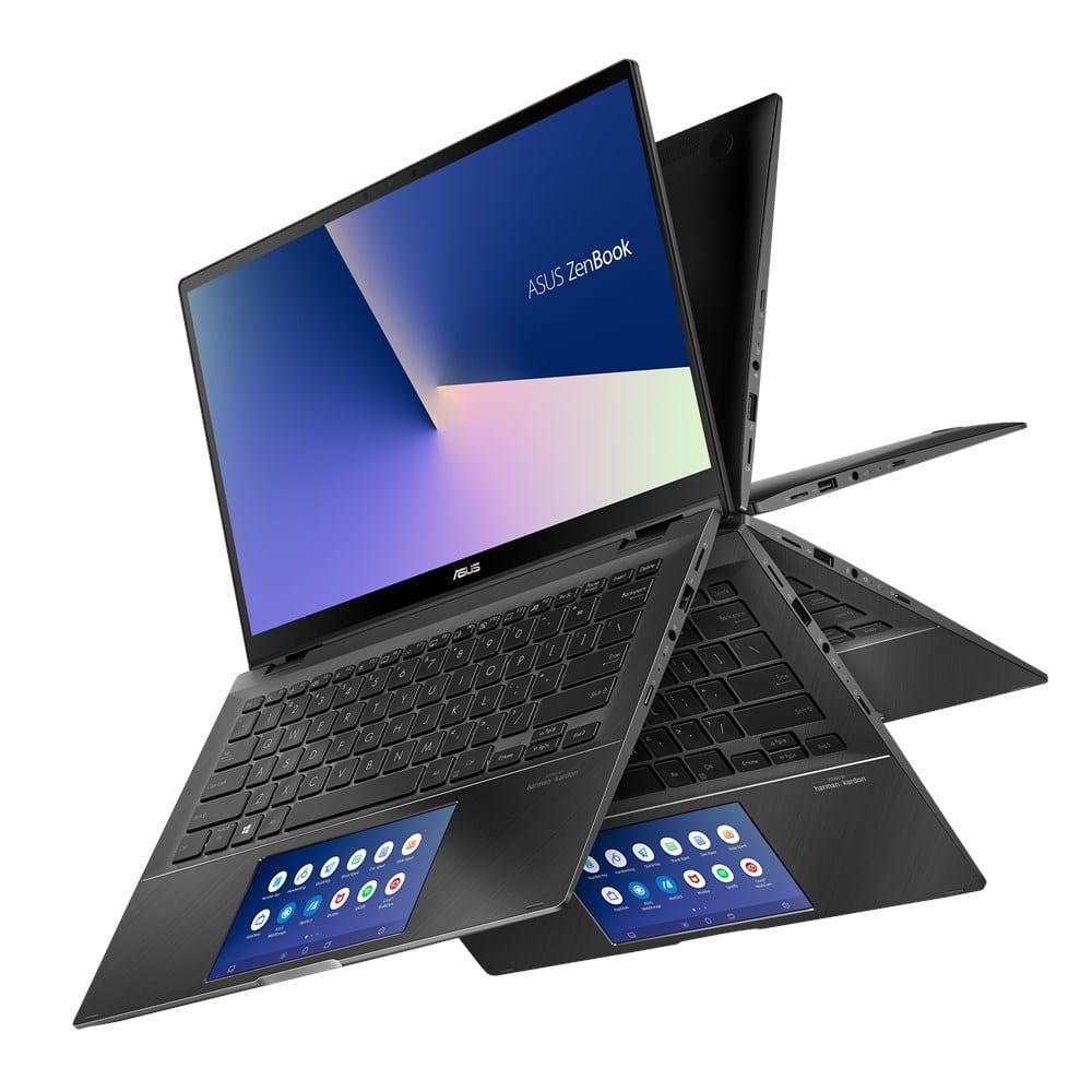 "<span class=""tagtitre"">IFA 2019 - </span>Asus Zen Flip UX463FL/UX563FD, Ultra Tablette Comet Lake"
