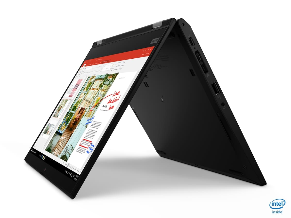 "<span class=""tagtitre"">IFA 2019 - </span>Lenovo ThinkPad L13 (Yoga), Ultrabook (Tablette) Comet Lake"