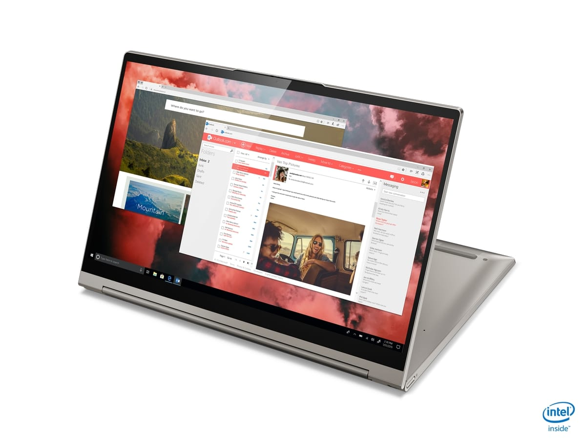 "<span class=""tagtitre"">IFA 2019 - </span>Lenovo Yoga C940, Ultrabook Tablette 14""/15"" 4K Ice Lake Turing"