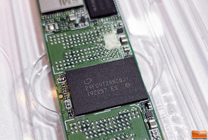 Intel SSD 665p pour le grand public, SSD QLC M.2 NVMe rapide