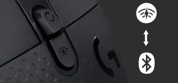 Logitech G604 Lightspeed souris