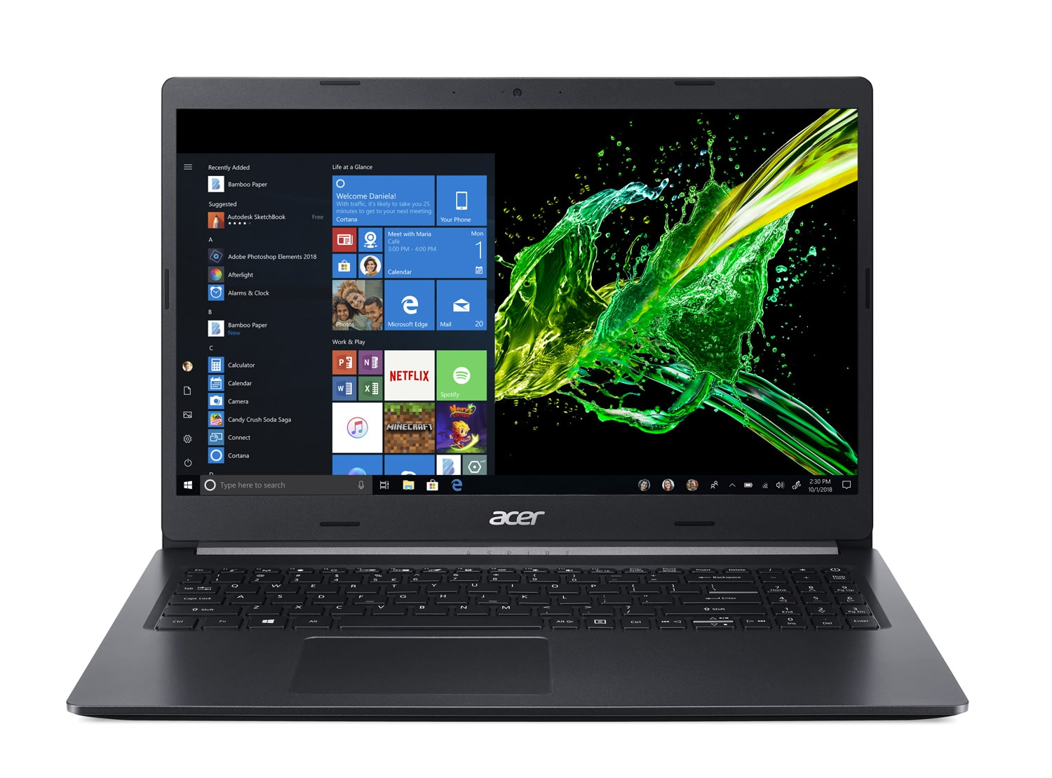 "Acer A515-54G-54AE, Ultrabook 15"" polyvalent SSD 1 To (749€)"