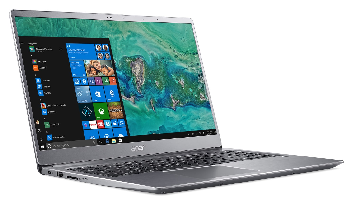"Acer SF315-52-852T, Ultra 15"" argent rapide SSD 512 Go (809€)"