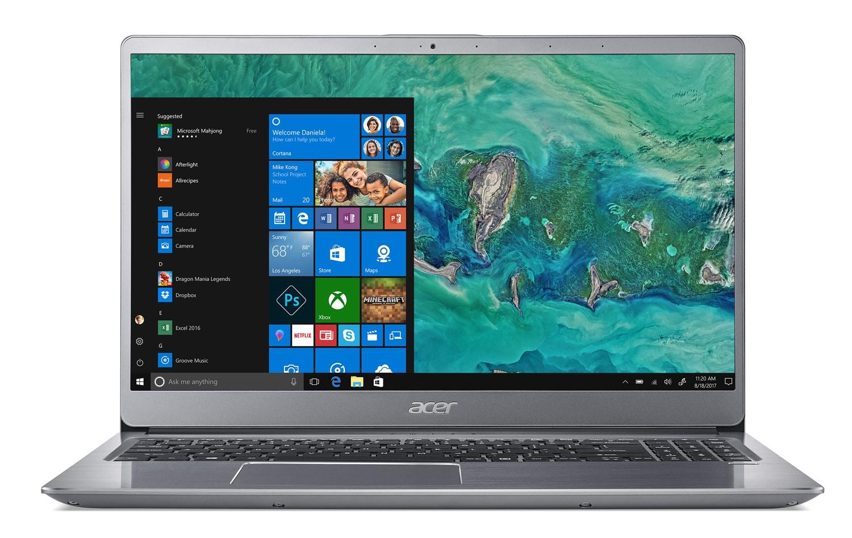 Acer Swift SF315-52G-84R2, 15 pouces léger et rapide (800€)
