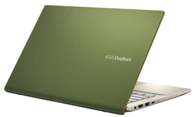 "Asus VivoBook S14 R431FA-EB096T, Ultrabook 14"" vert fin léger rapide SSD 512 Go (592€)"