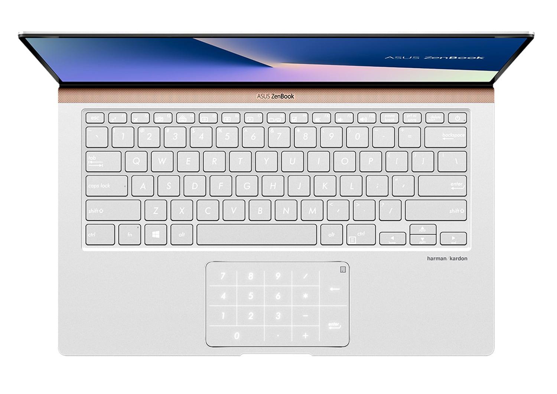 """Asus UX433FA-A5241R, Ultra 14"""" Pro NumPad SSD 512 Go (949€)"""