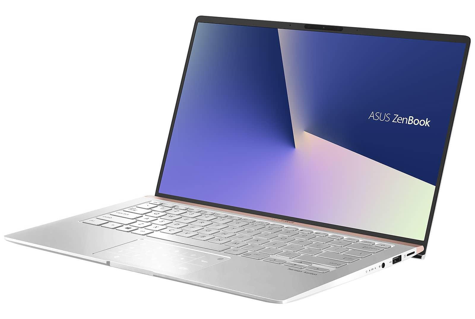"""Asus Zenbook UX433FA-A5133T, ultrabook 14"""" rapide (1099€)"""