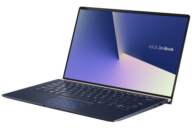 """Asus Zenbook UX434FA-A9103T, ultrabook 14"""" bleu rapide (829€)"""