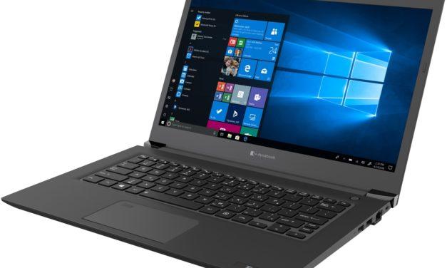 """Dynabook Tecra A40-E, les spécifications de l'Ultrabook Pro 14"""""""