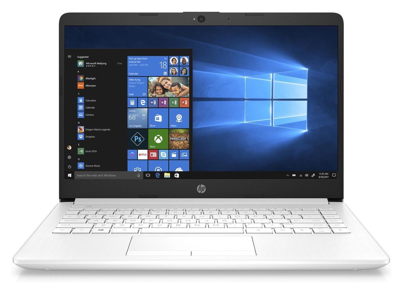 "HP 14-cf0020nf, ultrabook 14"" blanc pas cher (349€)"