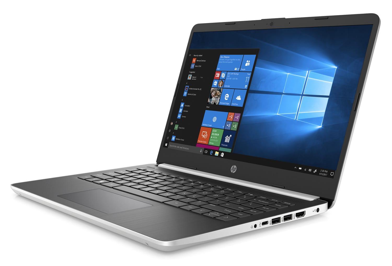 "HP 14s-dq0002nf, Ultrabook 14"" fin et léger argent rapide (319€)"