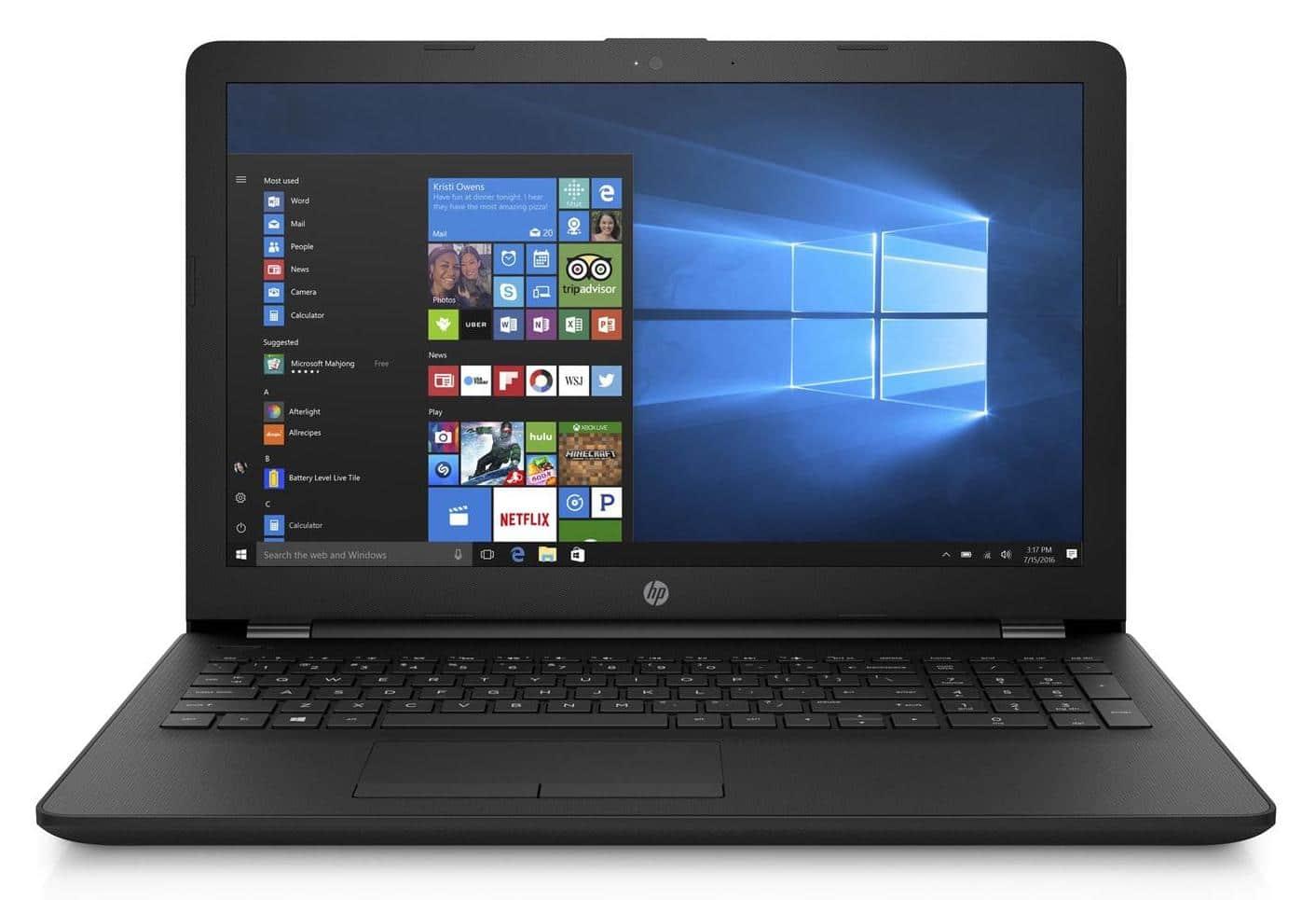 HP 15-db0035nf, 15 pouces pas cher grosse capacité (249€)