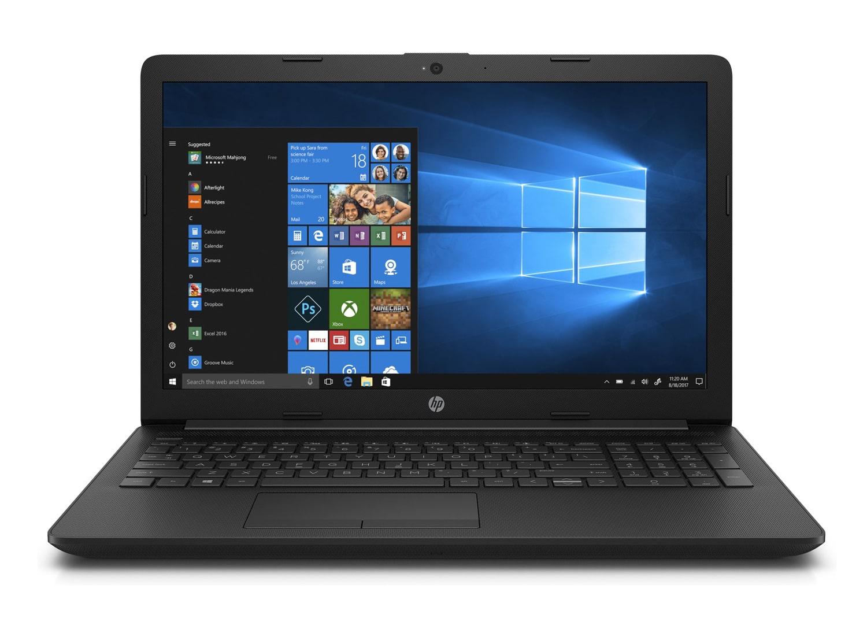 "HP 15-db0058nf, PC 15"" noir gros stockage léger pas cher (373€)"