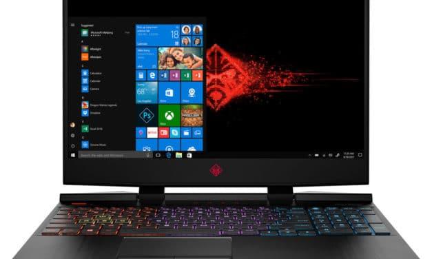 HP Omen 15-dc1053nf, PC gamer 15 pouces RTX 2060, 144Hz, i5, Thunderbolt 3 (1286€)