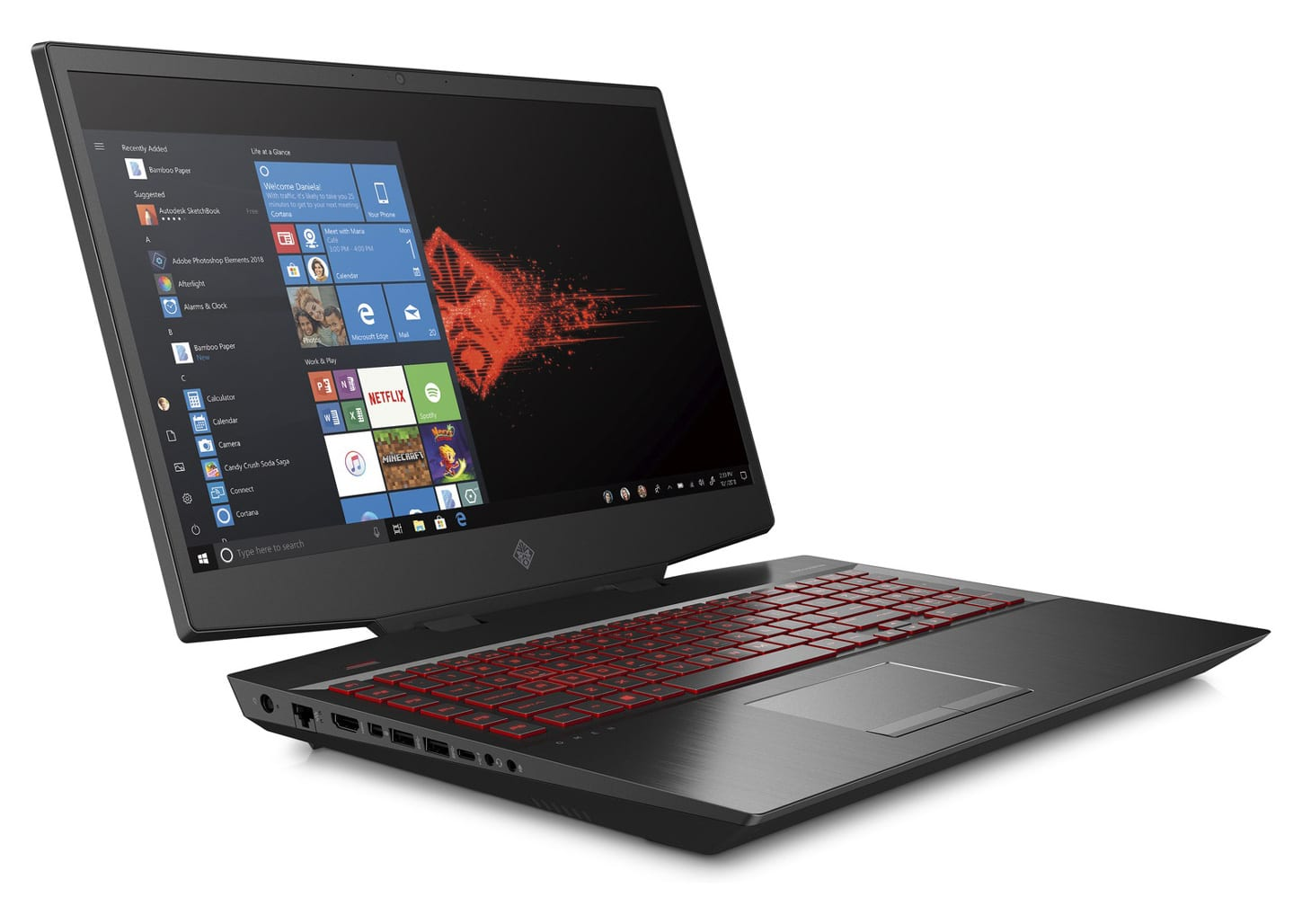 "HP Omen 17-cb0025nf, PC gamer extrême 17"" RTX 2080 (2189€)"