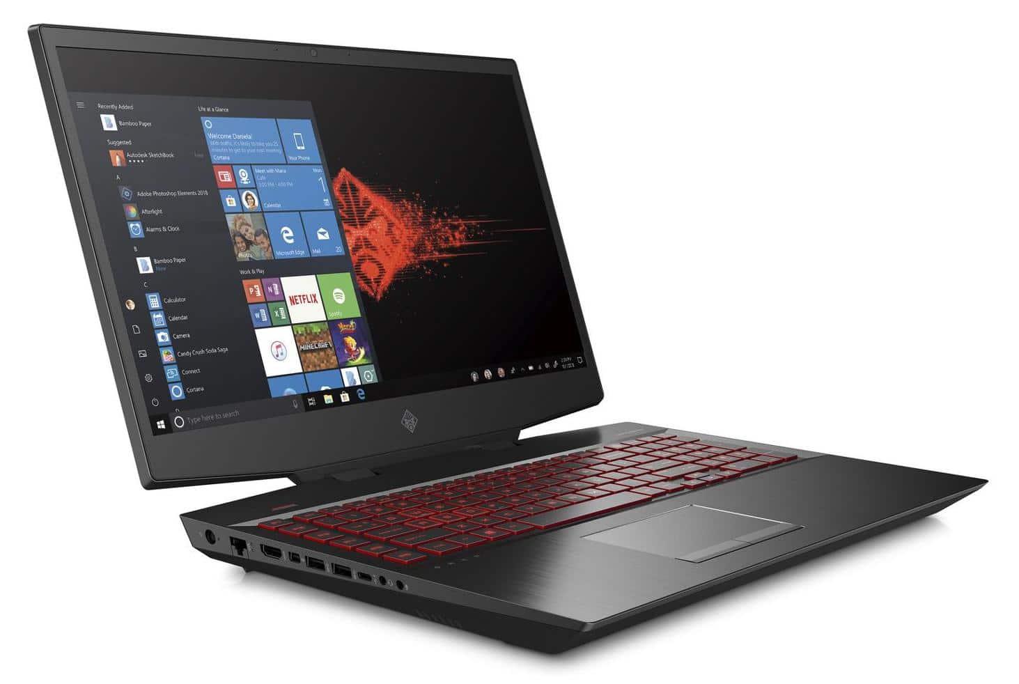 HP Omen 17-cb0045nf, PC 17 pouces gamer 144Hz (1399€)