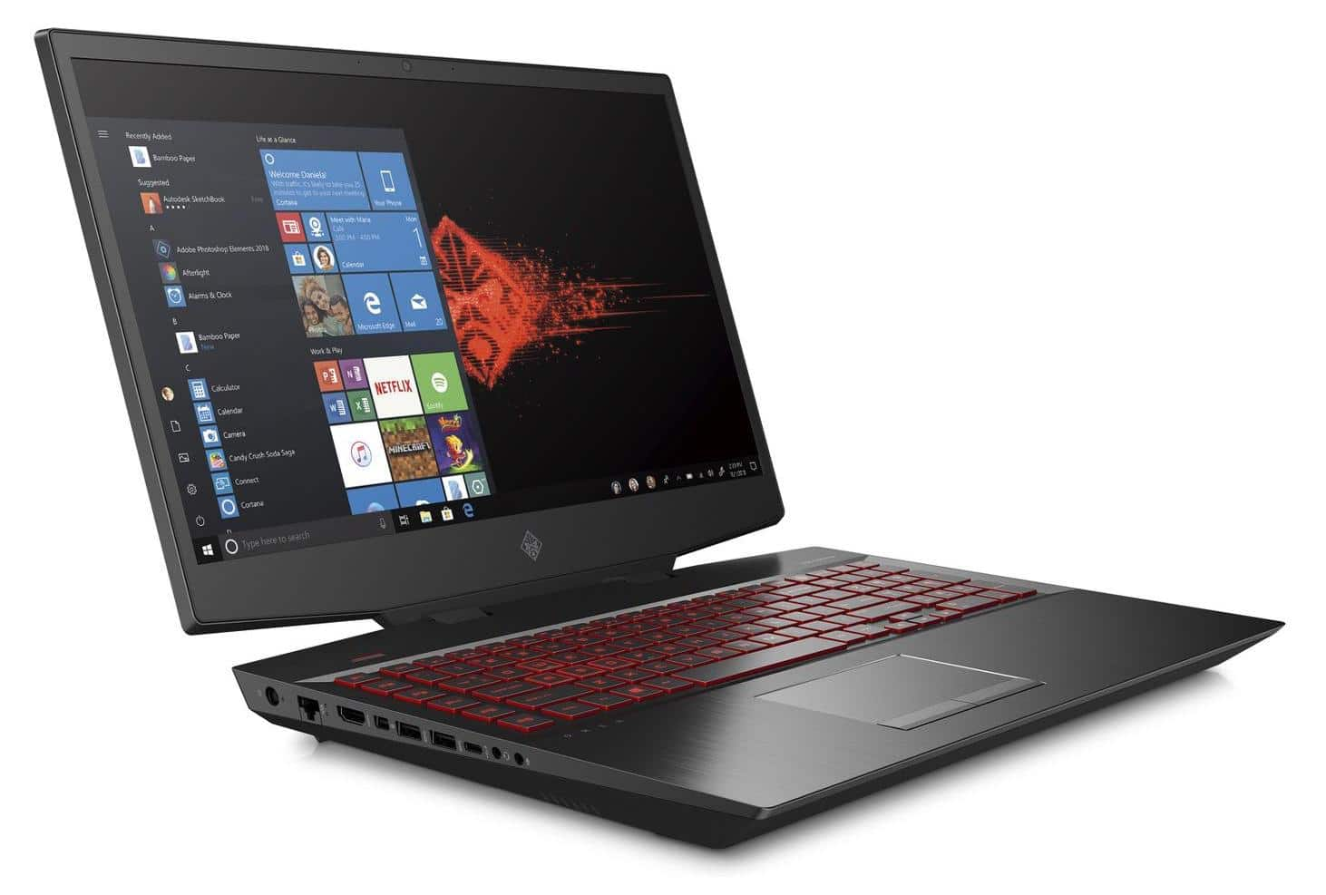 HP Omen 17-cb0046nf, PC gamer puissant RTX 2080 Octo (2631€)