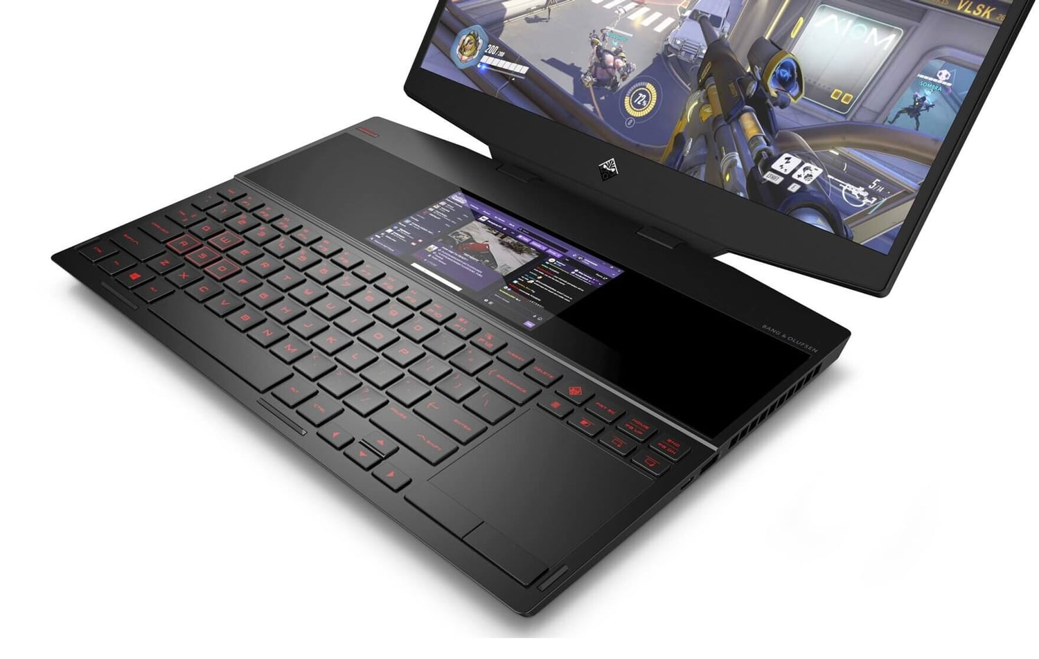 "HP Omen X 15-dg0016nf, PC 15"" 240Hz gamer 2 écrans (1559€)"