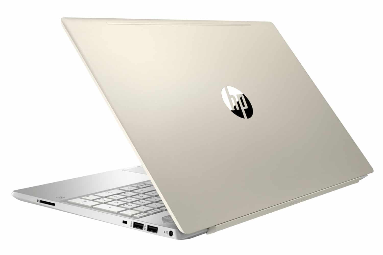 """HP Pavilion 15-cs1027nf, Ultrabook 15"""" Or rapide et léger (629€)"""