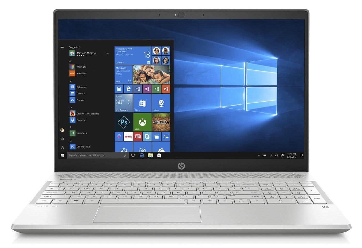 HP Pavilion 15-cw0021nf, ultrabook 15 pouces IPS (369€)